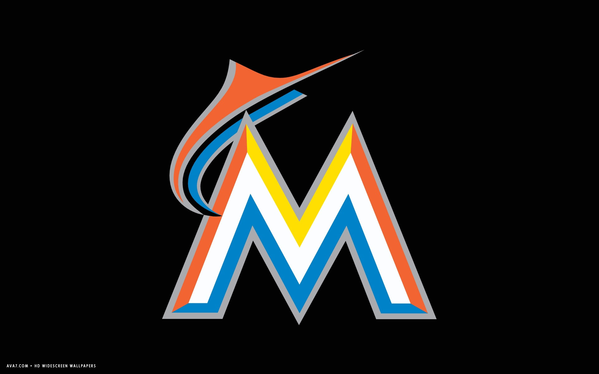 miami marlins mlb baseball team hd widescreen wallpaper baseball 1920x1200