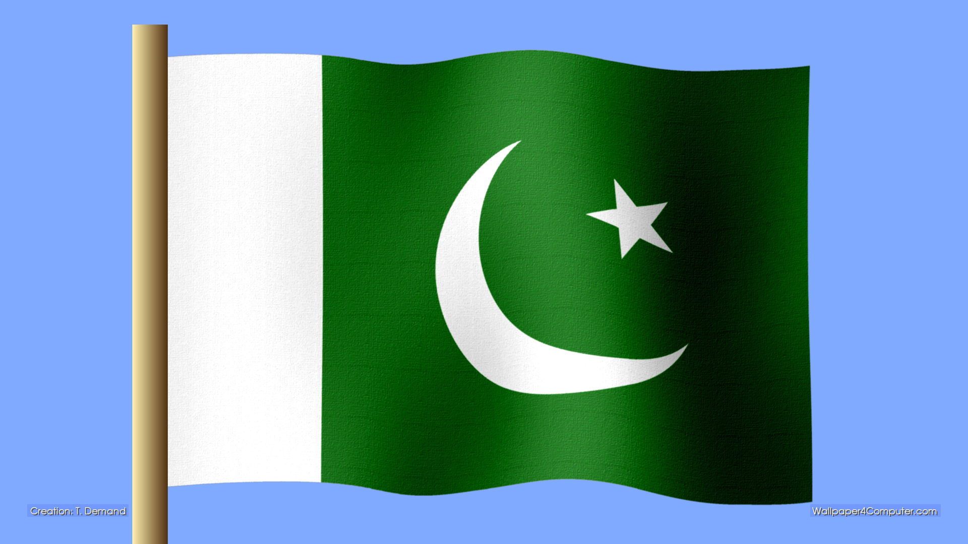Pakistan Flag 3d Pakistani Flag Wallpapers 3d   Viewing 1920x1080