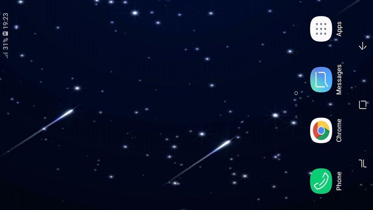 Falling Stars Live Wallpaper 1280x720