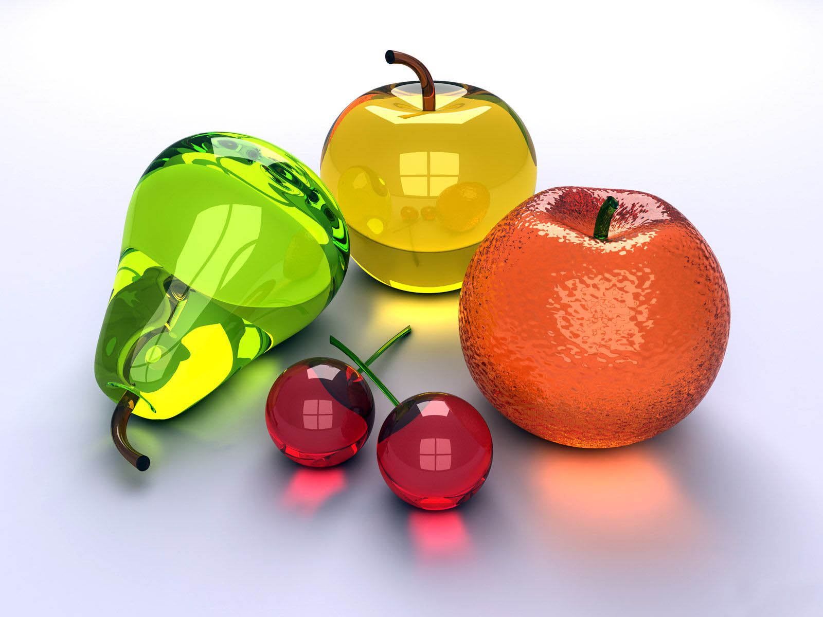 wallpapers Glass Fruits 1600x1200