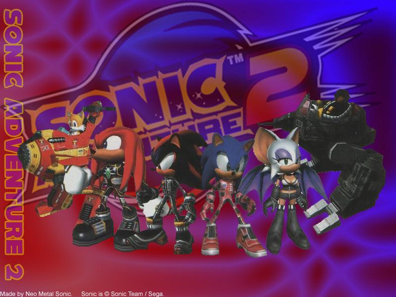 49 Sonic Adventure 2 Battle Wallpaper On Wallpapersafari
