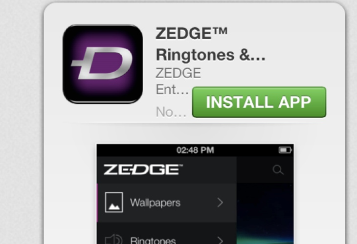 zedge tonesync sur pc
