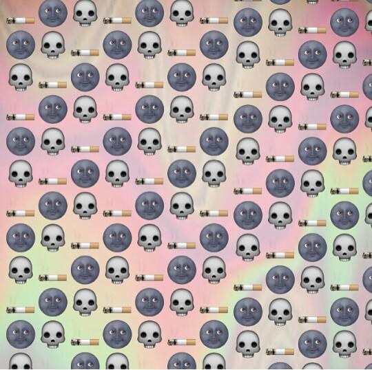 backgrounds emoji instagram wallpaper lockscreen emoji background 540x538