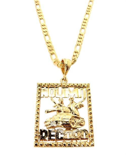 No Limit Records Chain Gold no limits records figaro 500x615