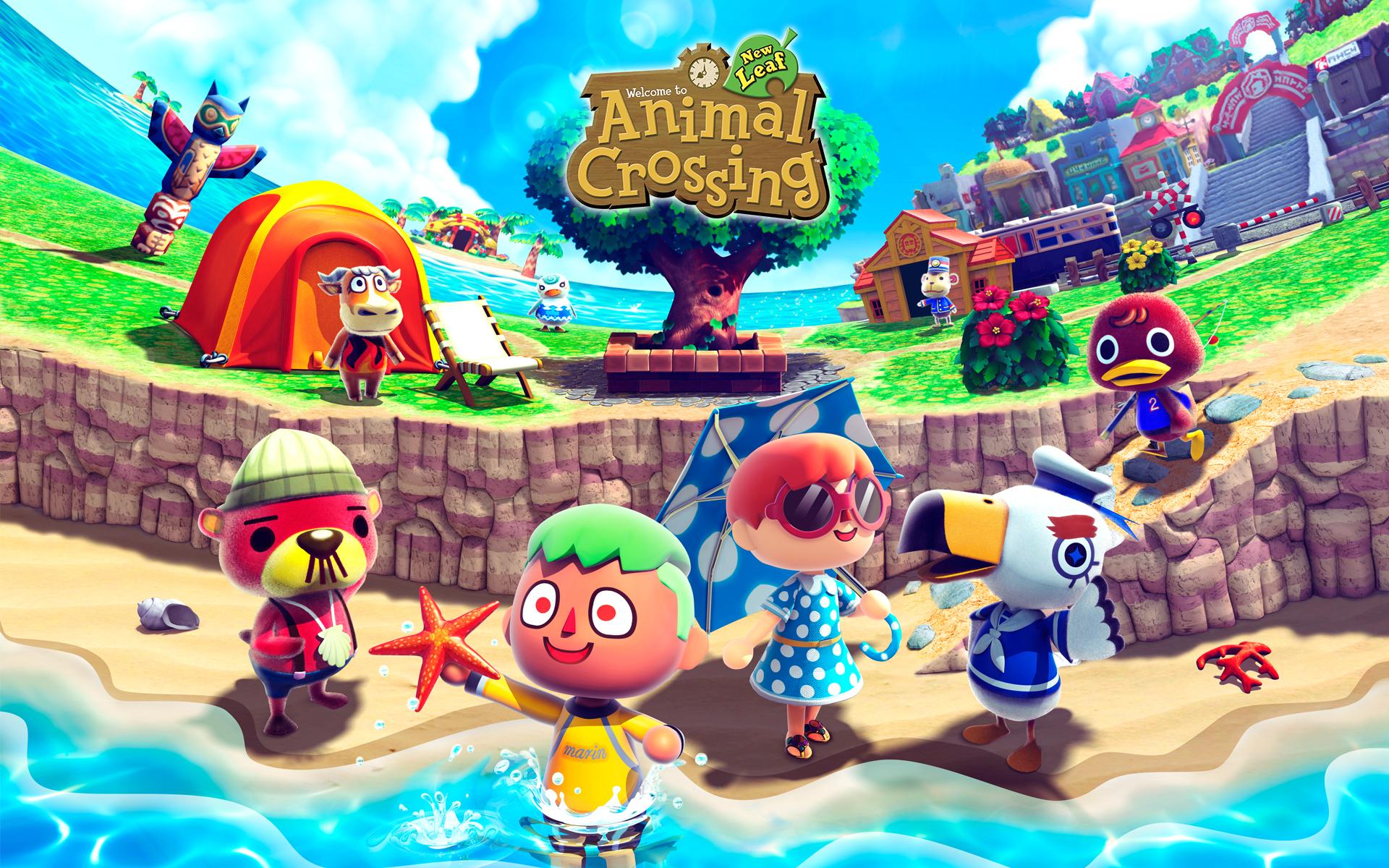 Animal Crossing New Leaf Wallpaper - WallpaperSafari