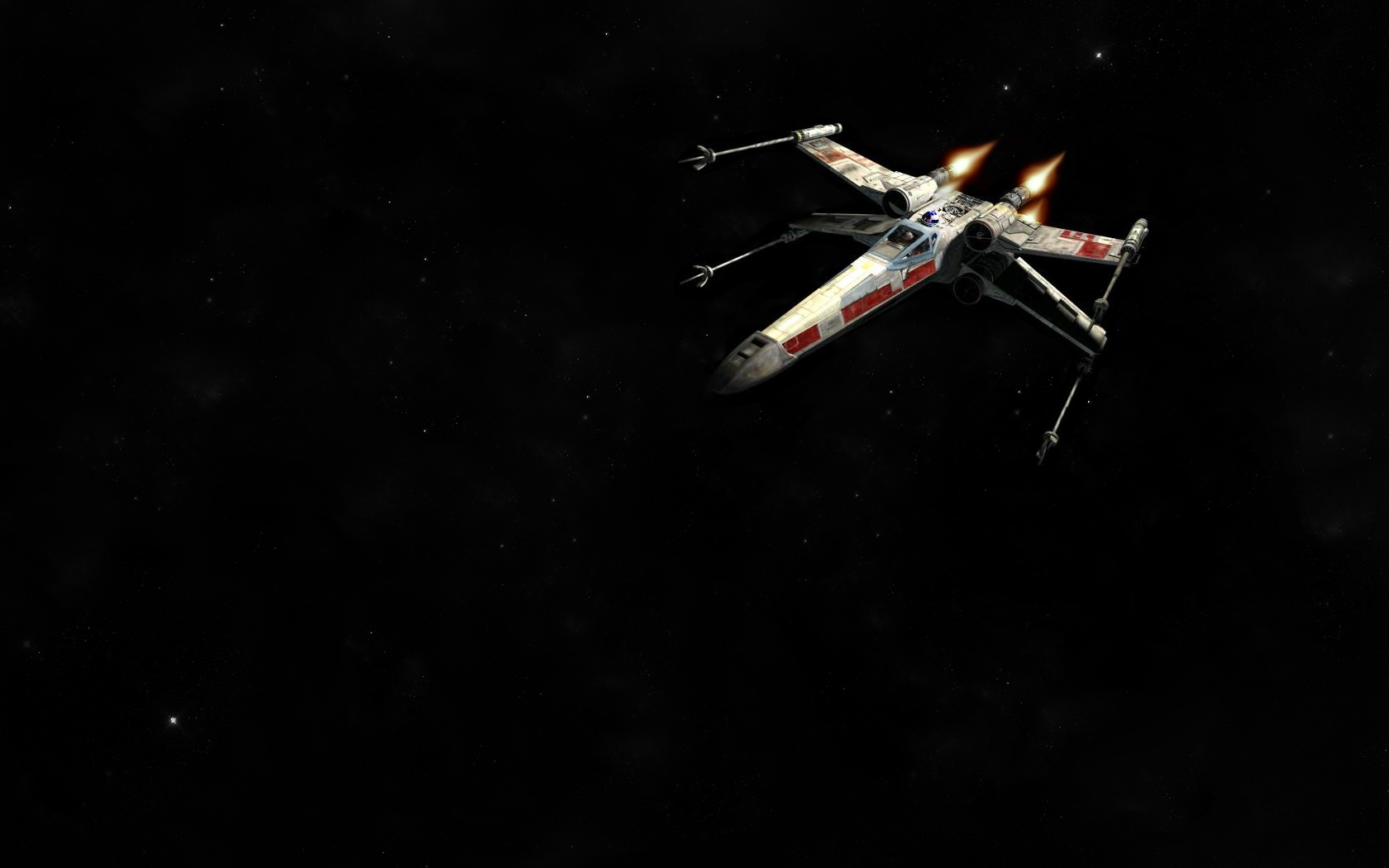 star wars x wing fighter xwing and out 785890 1680x1050