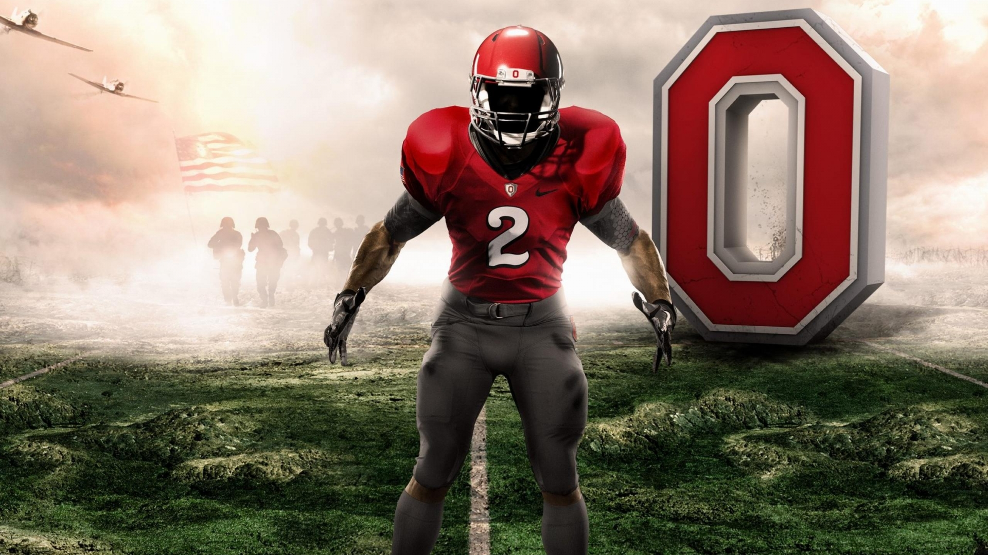 Nike Football Wallpaper 2012 College football 1920x1080