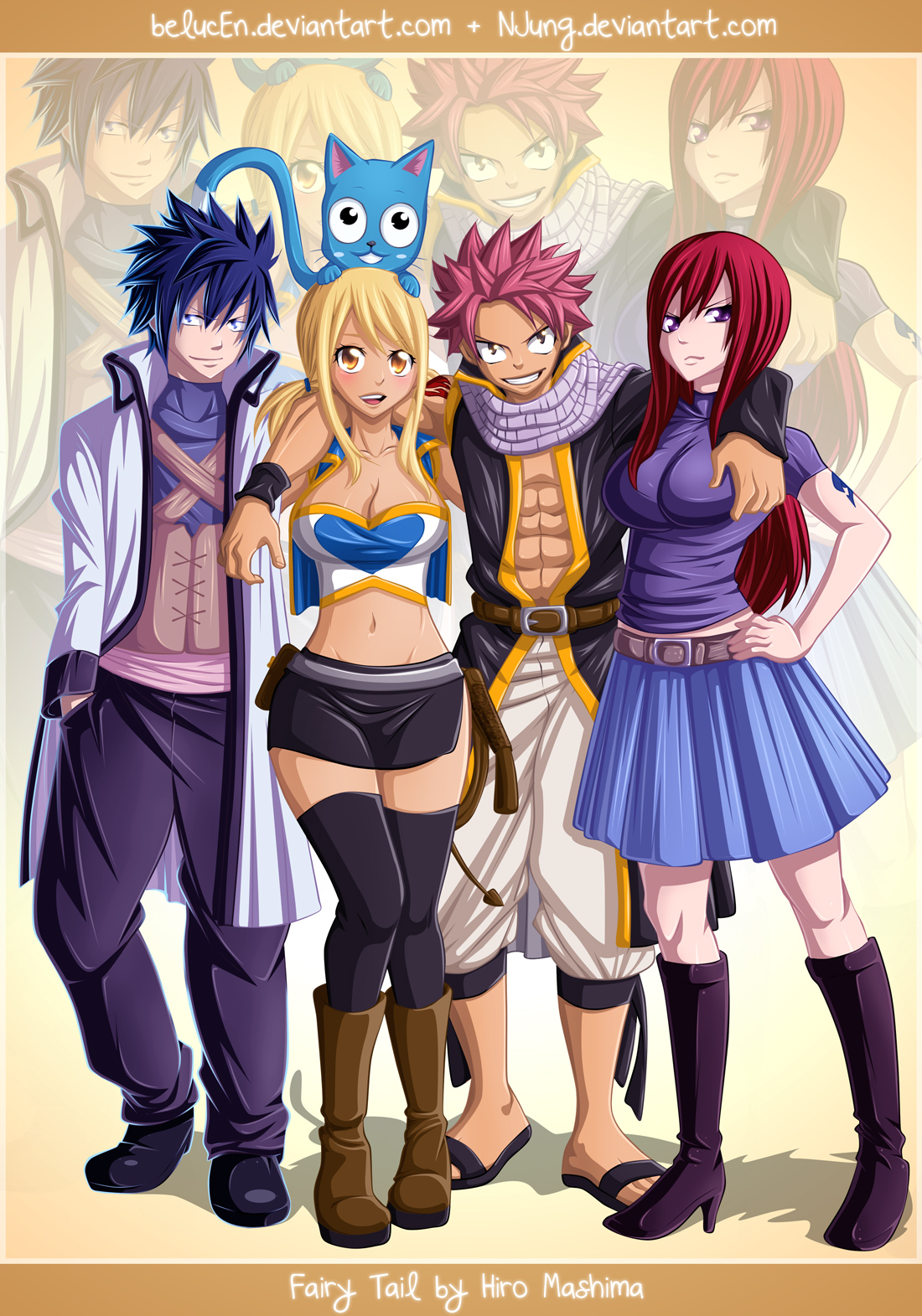 48 Fairy Tail Wallpaper Iphone 4 On Wallpapersafari