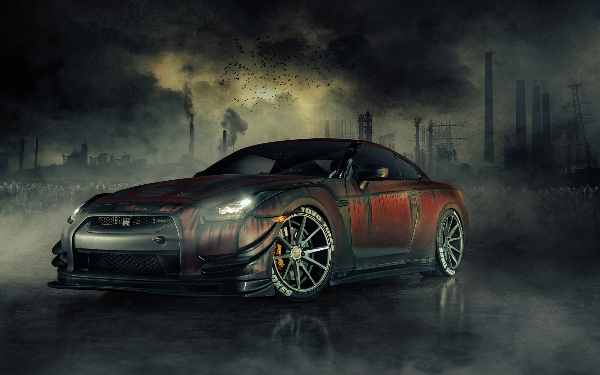Nissan GT R car wallpaper Gallery 1920x1200