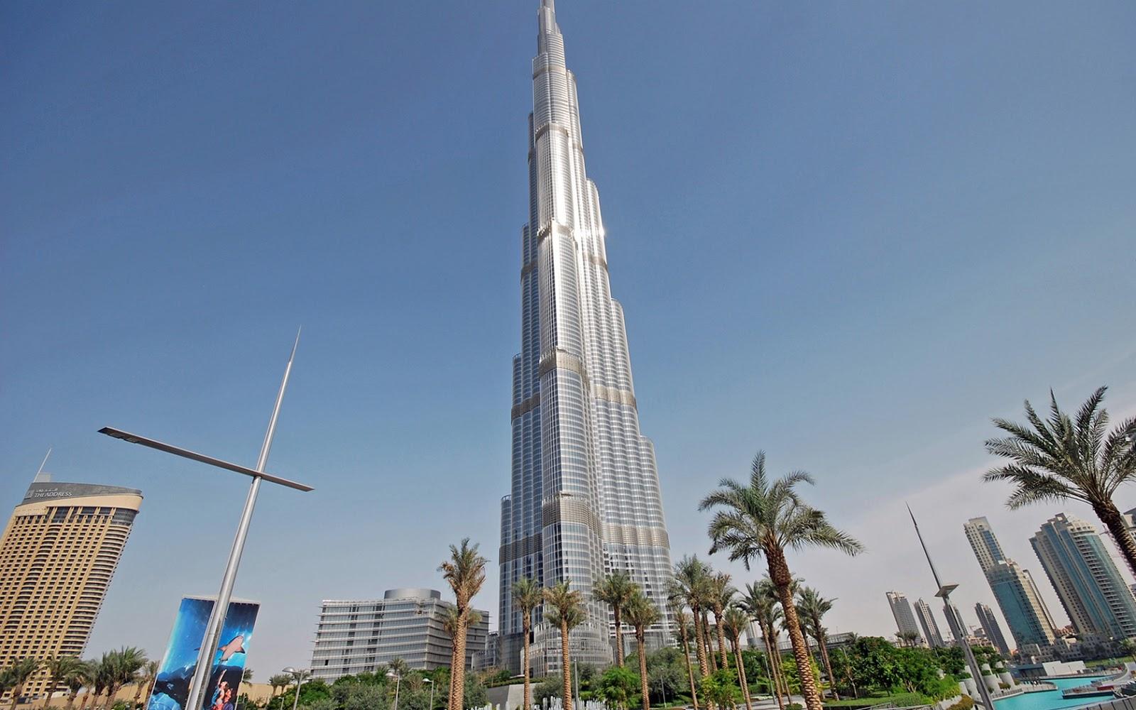 Burj Khalifa New HD Wallpapers 2012 2013   El Clasico Latttes Ball 1600x1000