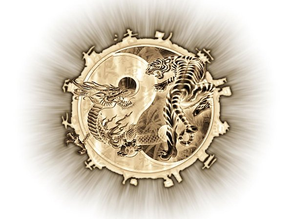 Dragon and Tiger wallpaper by maidenfan23 on deviantART 600x450