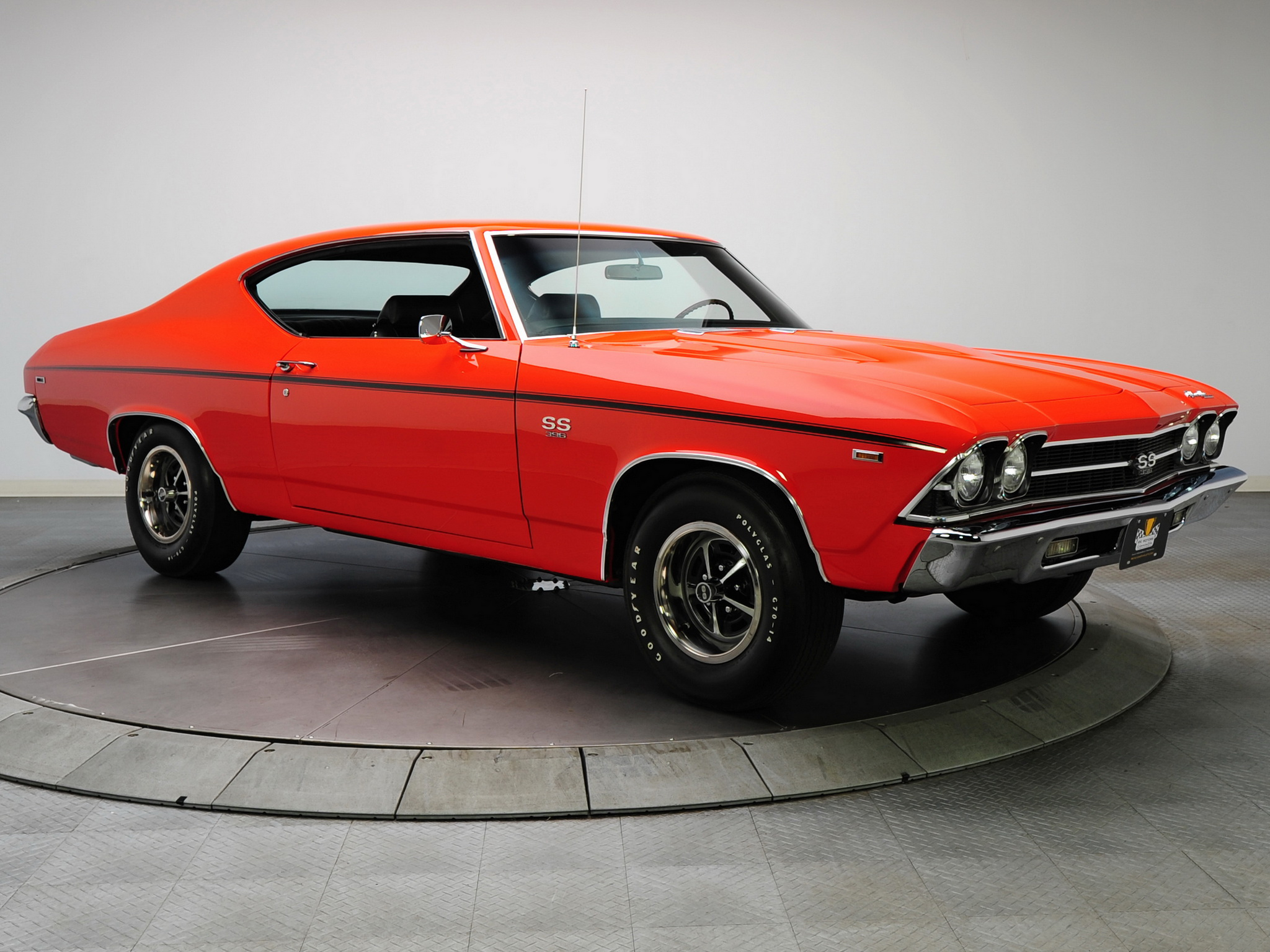 Chevelle S S 396 L34 Hardtop Coupe muscle classic wallpaper background 2048x1536