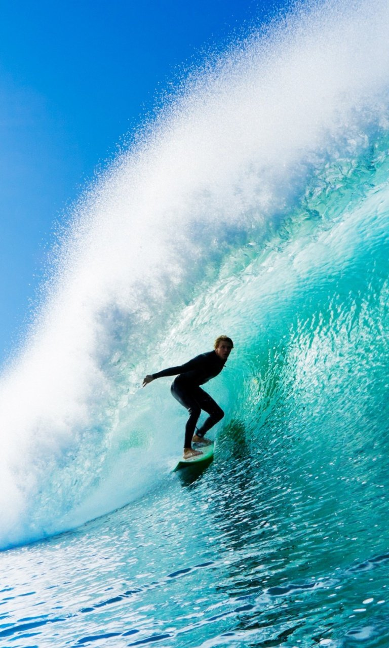 Fantastic Surfing 768x1280 wallpaper768X1280 wallpaper screensaver 768x1280