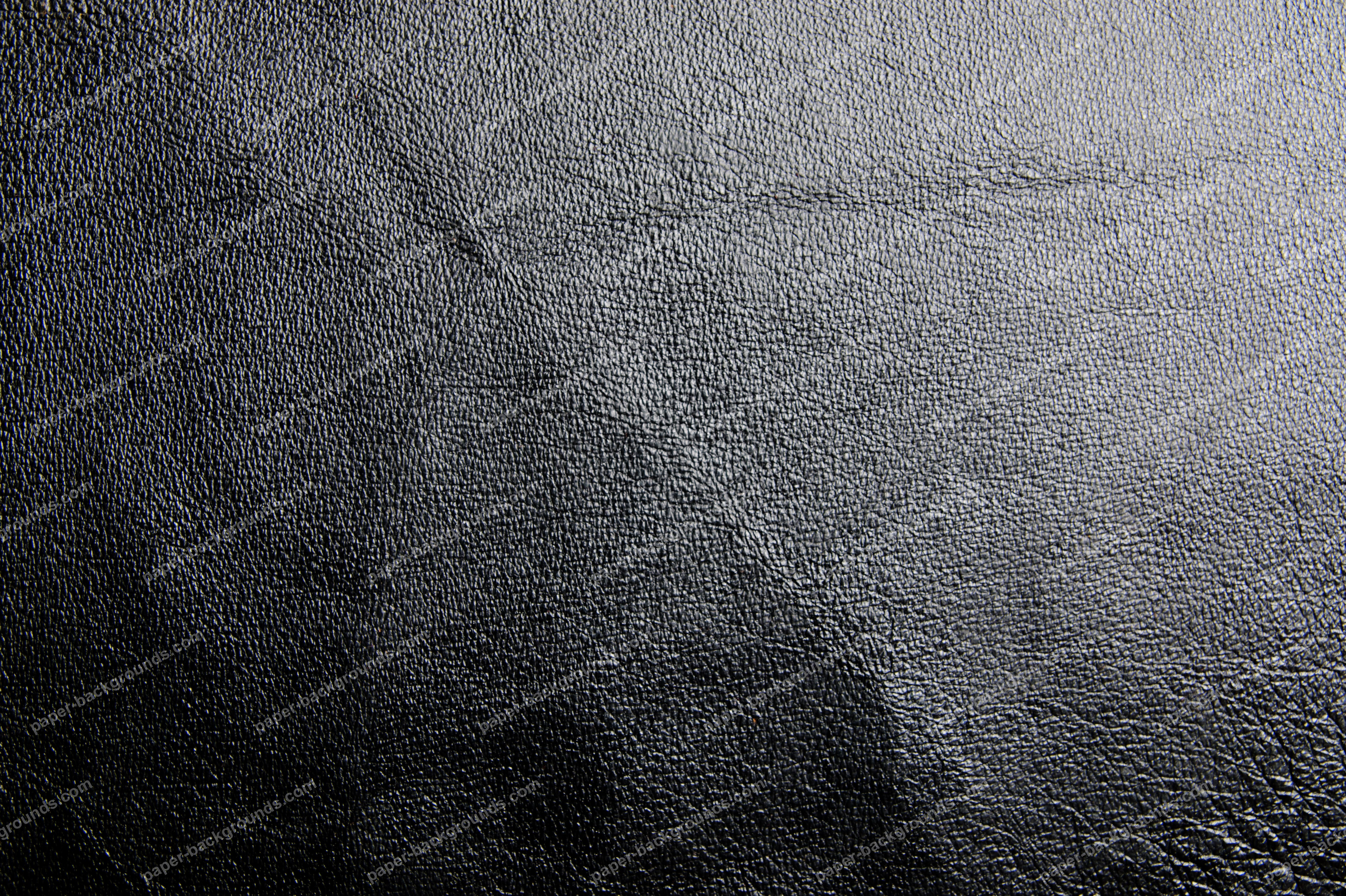 Black Shiny Leather Background Paper Backgrounds 5468x3642