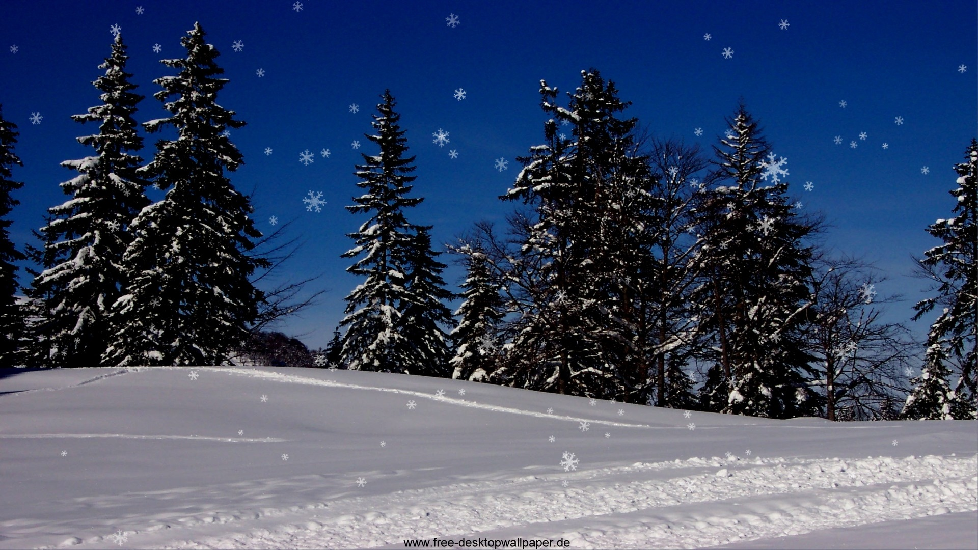 snow christmas wallpaper - wallpapersafari