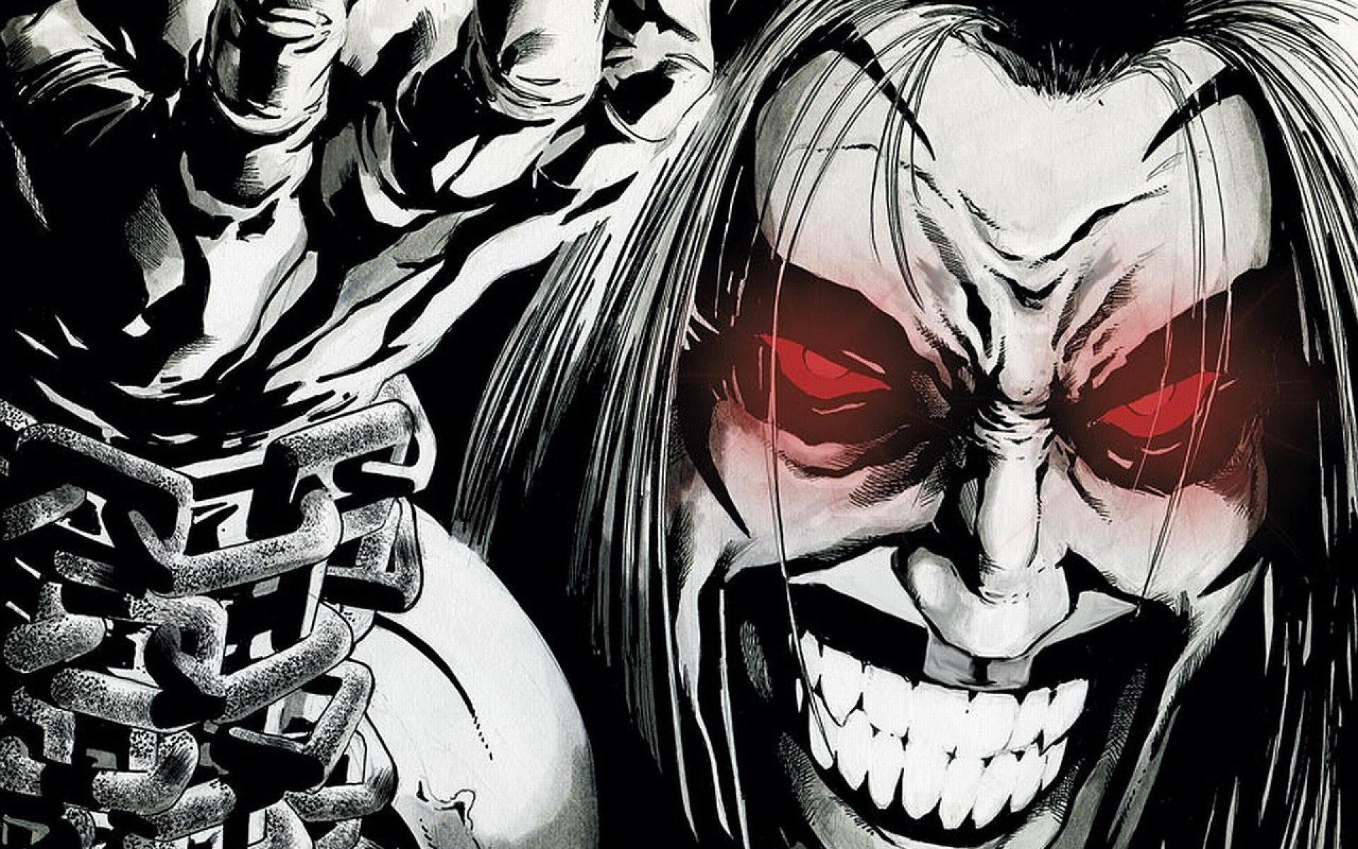 DC Comics comics Lobo weird worlds Czarnian wallpaper background 1920x1200