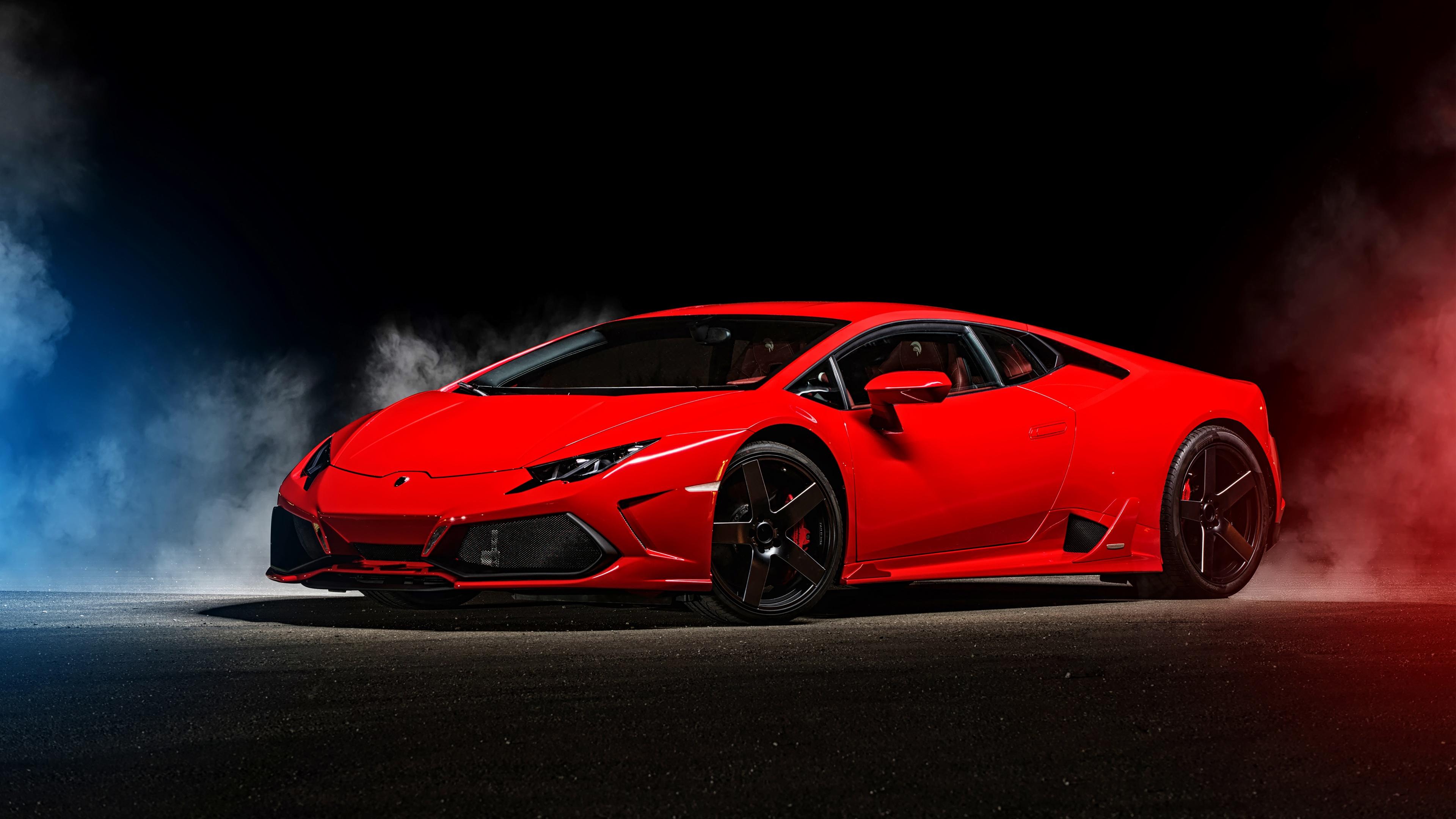 Lamborghini Huracan 4k Ultra HD Wallpaper Background Image 3840x2160