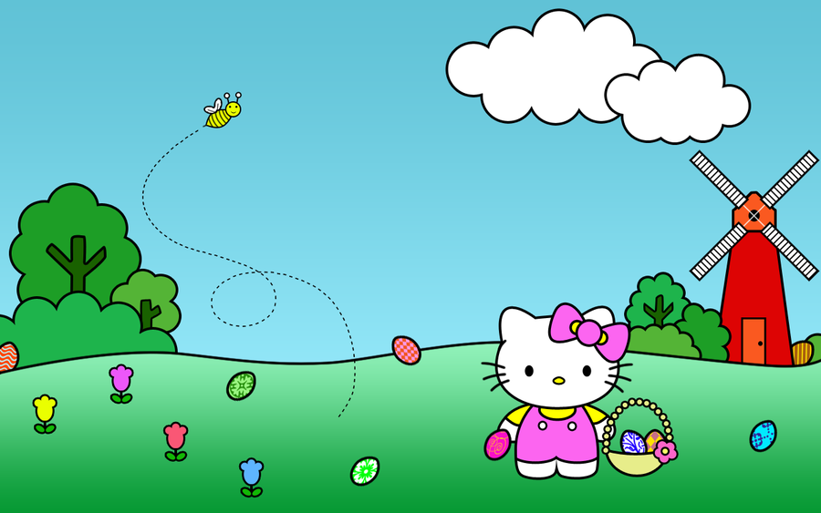hello kitty easter wallpapers - photo #20