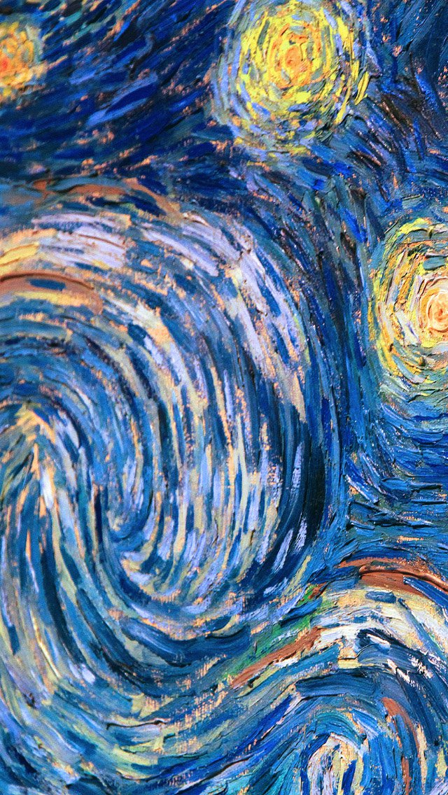 Art The Starry Night Vincent Van . Van Gogh Ipad Wallpaper