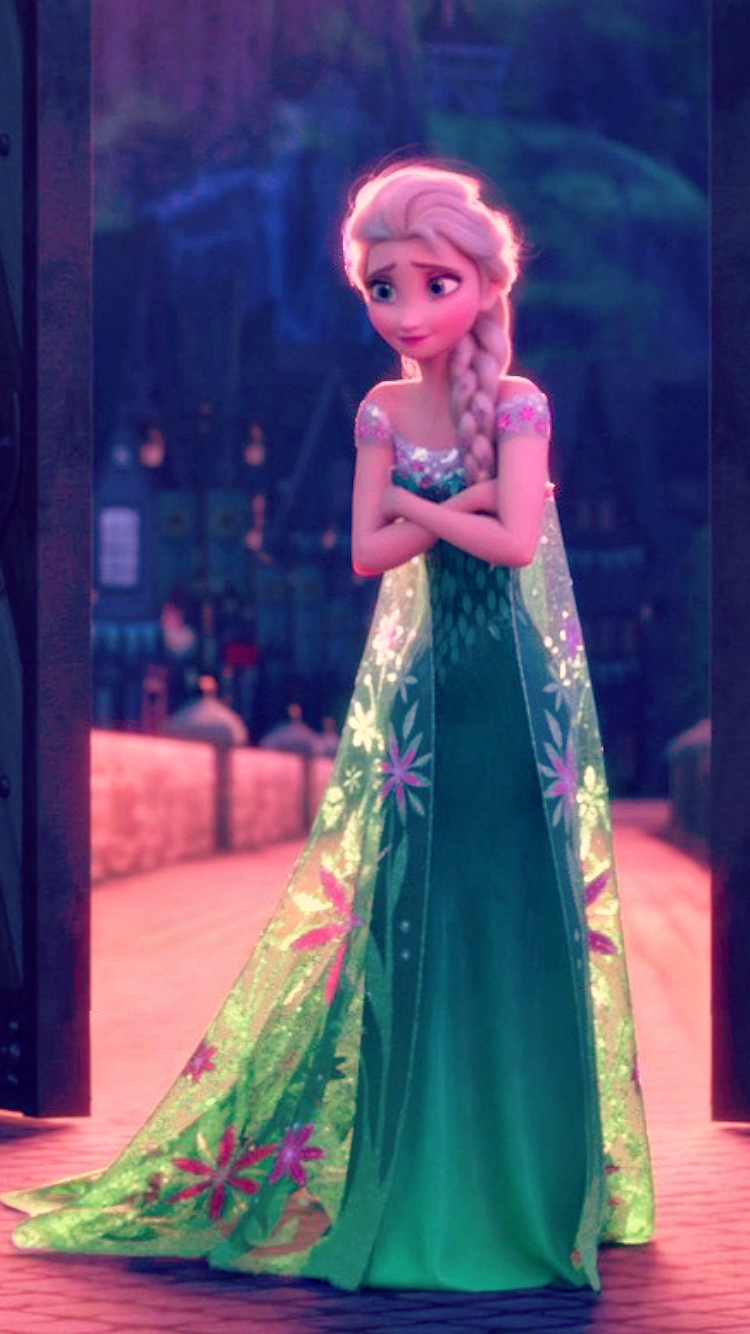 Frozen Fever Elsa Phone Wallpaper   Frozen Fever Photo 39332066 750x1334
