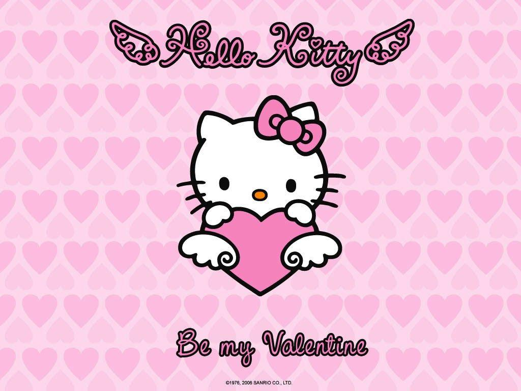 Valentines Hello Kitty wwwgalleryhipcom   The Hippest Pics 1024x768
