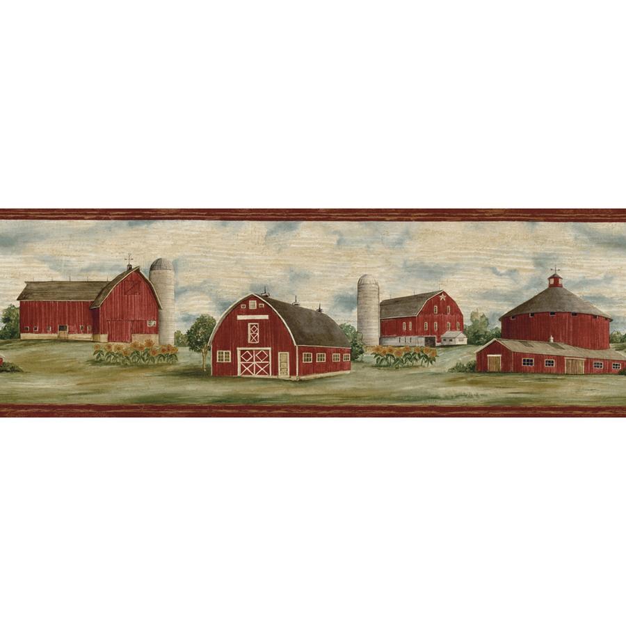 roth 6 78 Purple Barn Prepasted Wallpaper Border at Lowescom 900x900