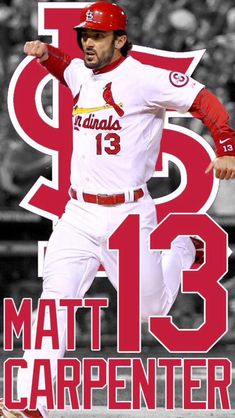 Matt Carpenter 13 Wallpaper St louis cardinals Stl cardinals 750x1334