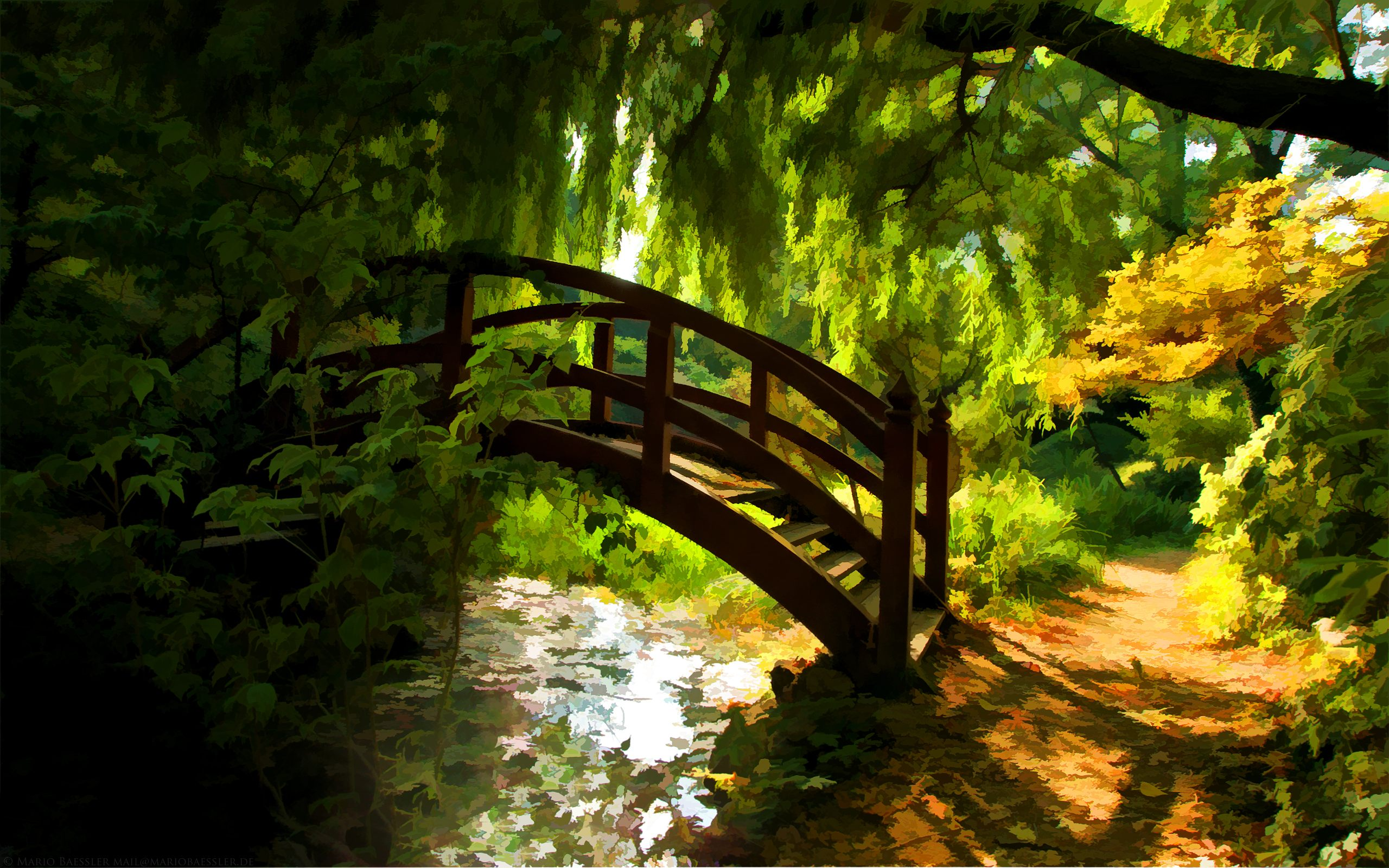 Home Nature Landscapes Imac Backgrounds Nature 2560x1600