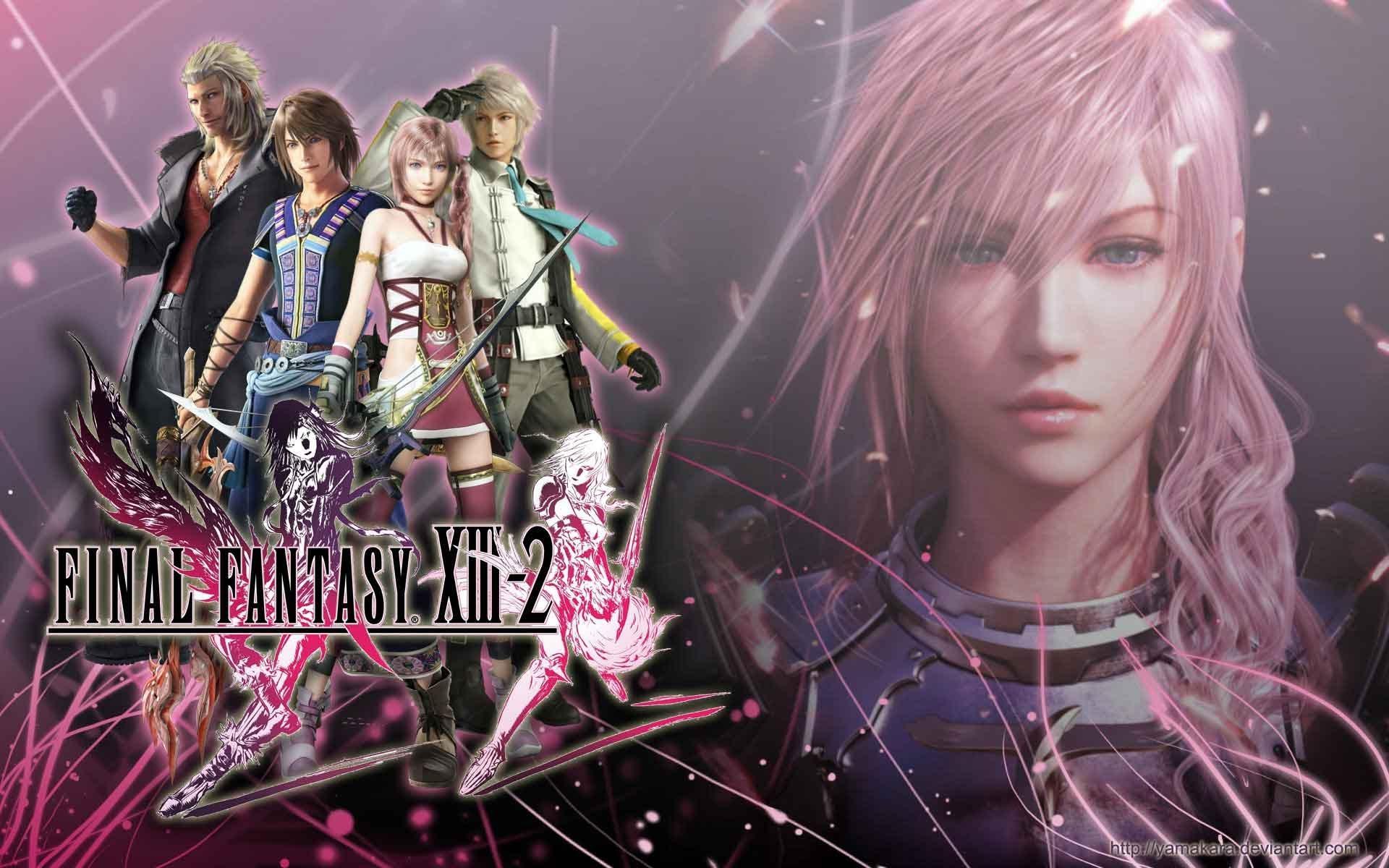 Final Fantasy 13 2 Wallpaper: Final Fantasy 13 Wallpaper Hd
