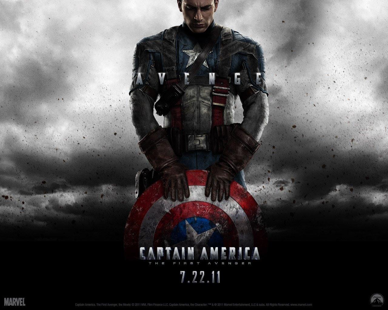 Captain America The First Avenger desktop wallpaper 1280x1024