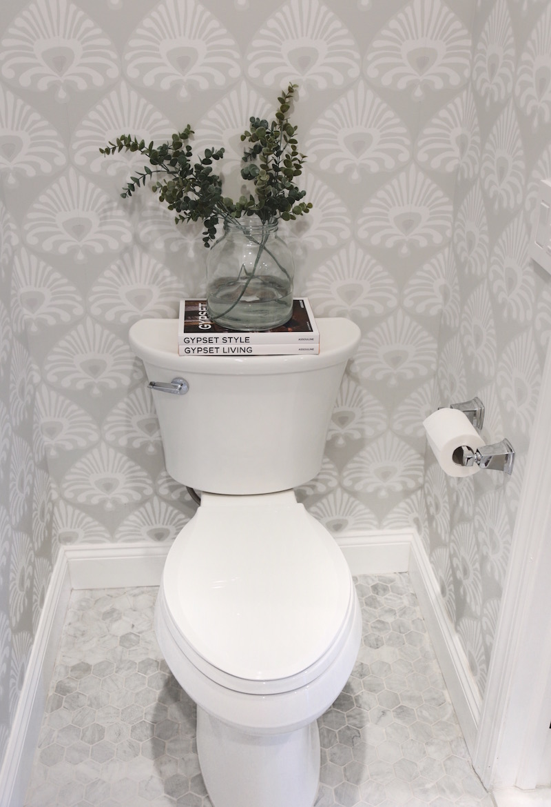 Somewhere Lately My Powder Room Before After 800x1170