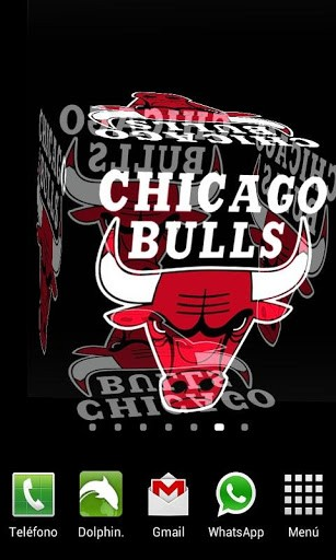 View bigger   3D Chicago Bulls Wallpaper for Android screenshot 307x512