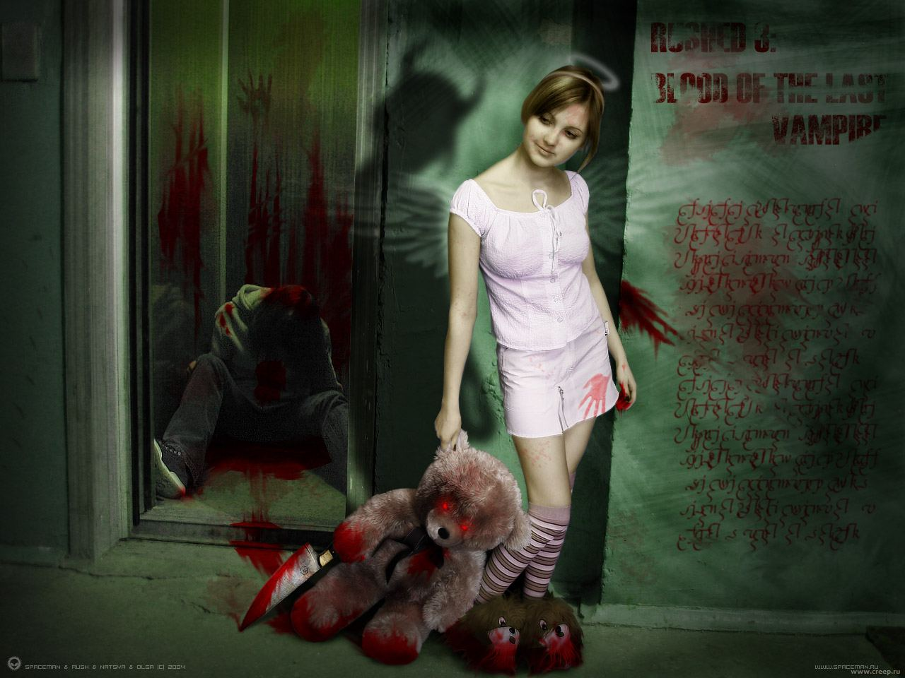 horror wallpaper by ravensrevenge666 horror picturejpg 1280x960