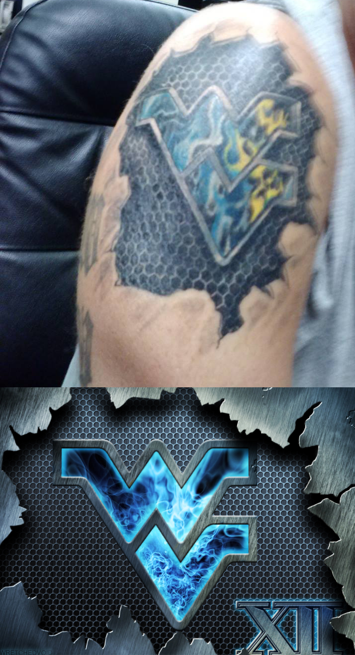 Flying WV Tattoo by wretchedvoid 714x1314