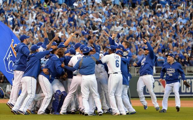Royals triumphed over the New York Mets in game 5 of the 2015 World 640x400