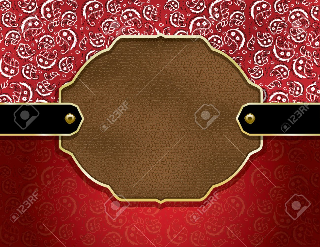 Background Containing A Red Paisley Handkerchief Pattern And 1300x1004