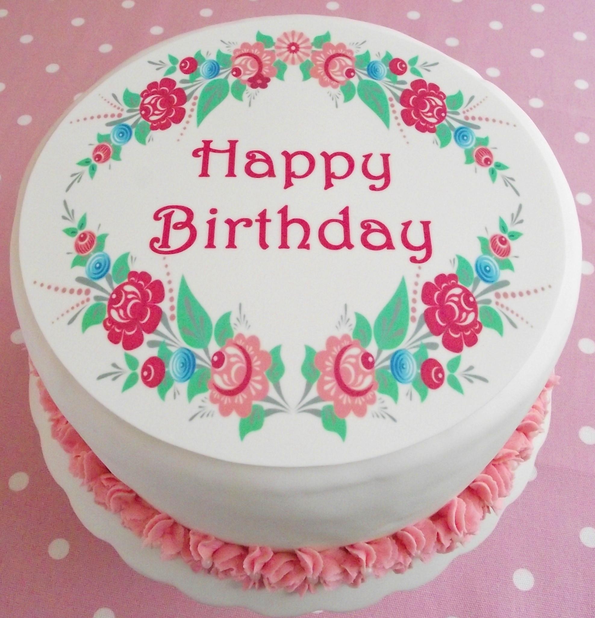 Happy Birthday Cake Wallpaper Wallpapersafari