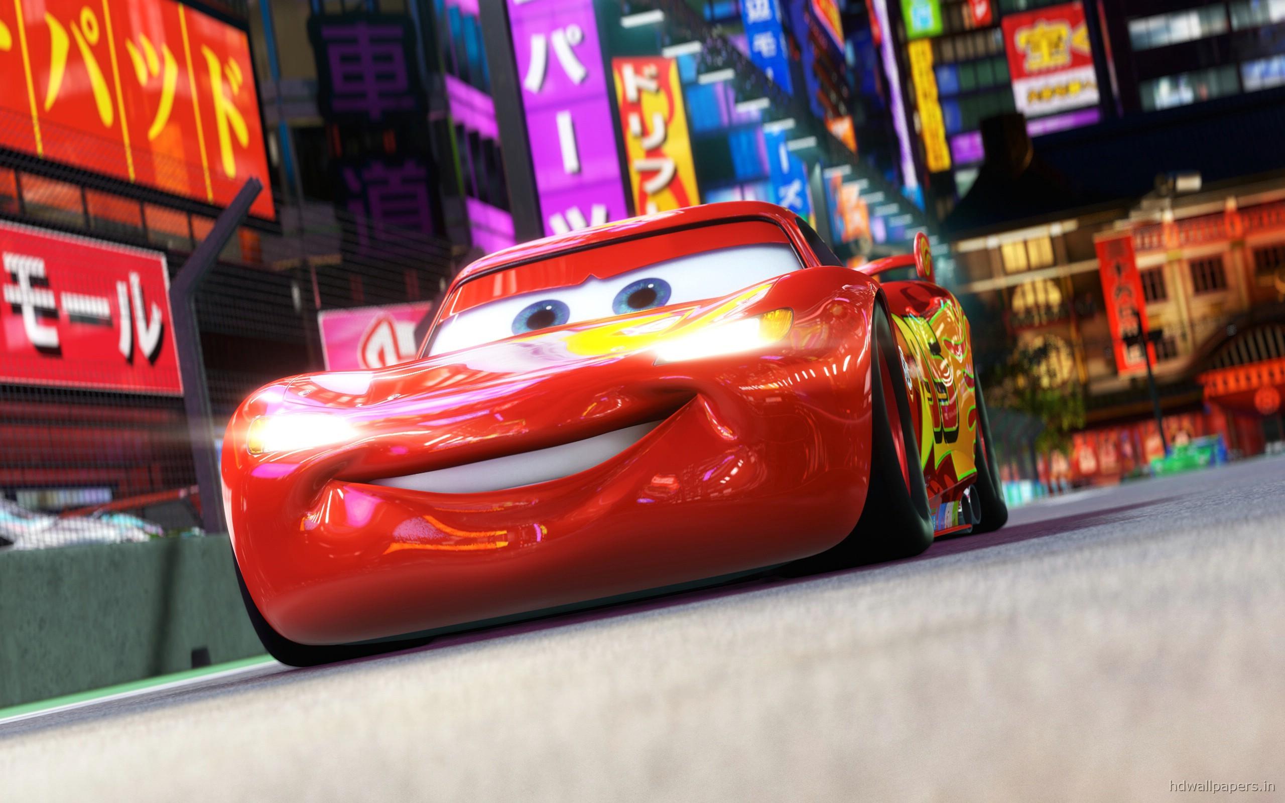 Lightning McQueen in Cars 2 Wallpapers HD Wallpapers 2560x1600