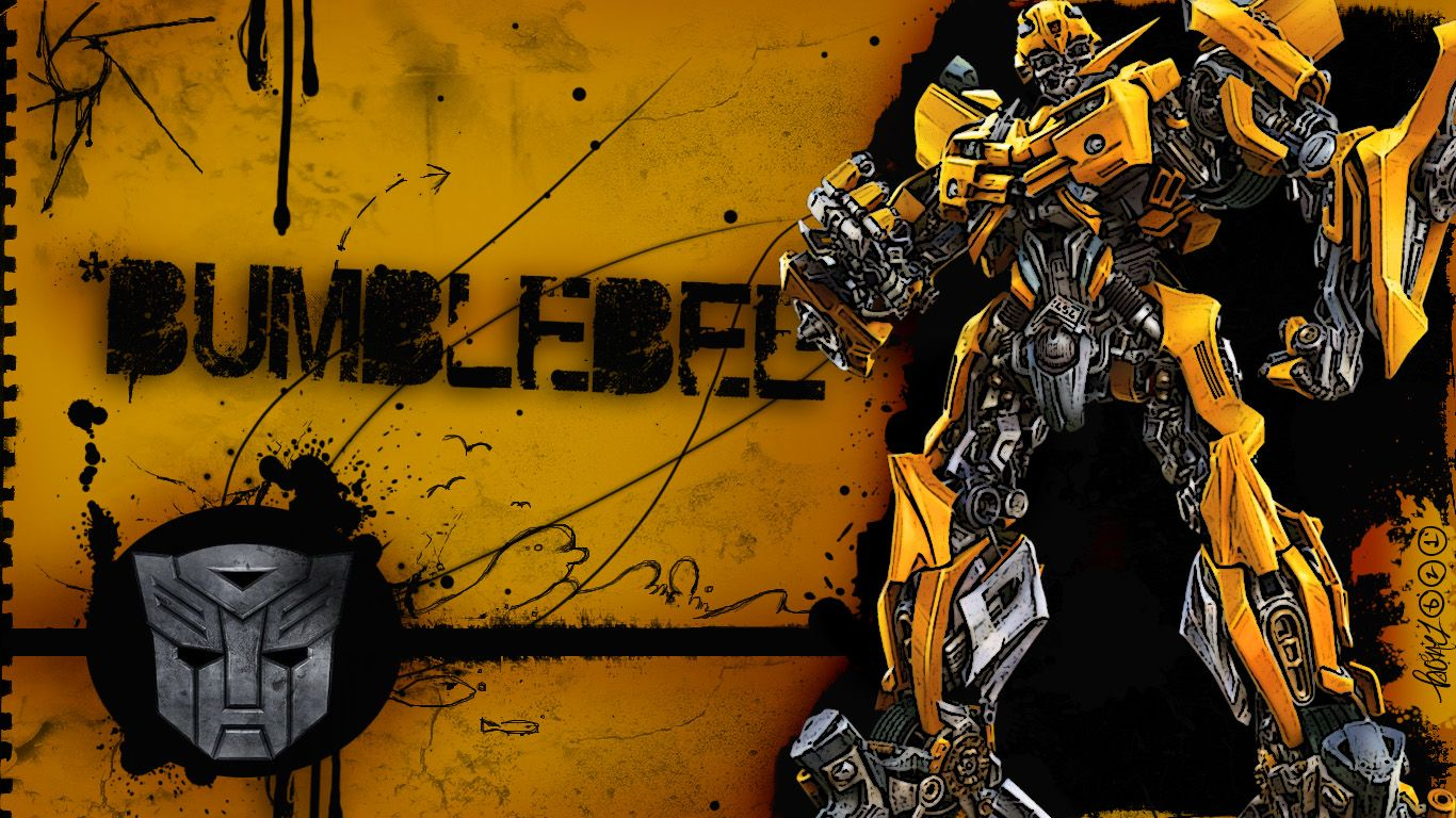 Animals For Transformers Bumblebee Wallpaper 1366x768