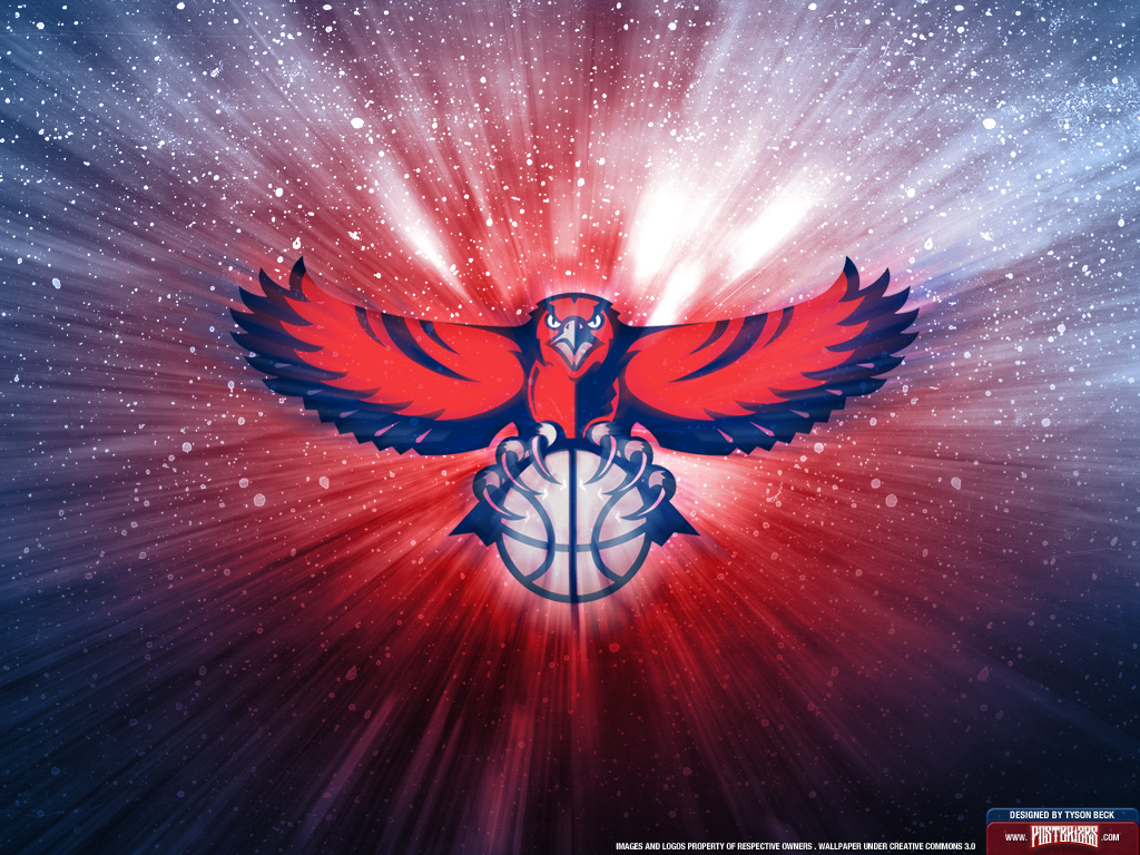 Atlanta hawks logo wallpaper wallpapersafari - Hawk iphone wallpaper ...