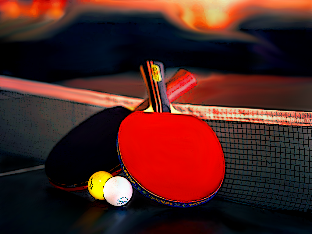 Ping Pong Wallpaper 08935   Baltana 1024x768