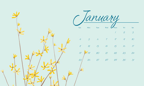 Calendar Wallpapers Monthly Calendar Wallpapers 2009 Wallpapers 500x300