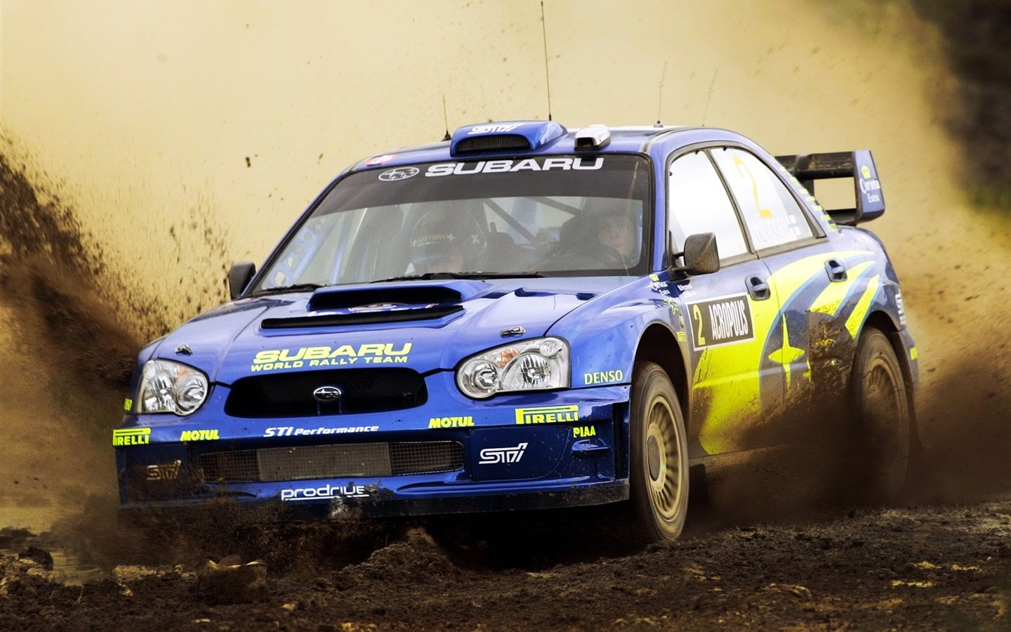 Subaru Impreza Rally Dirt Wallpaper 1440x900 resolution wallpaper 1440x900