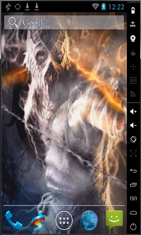 Download Smoke Mortal Kombat Live Wallpaper for your Android 480x800