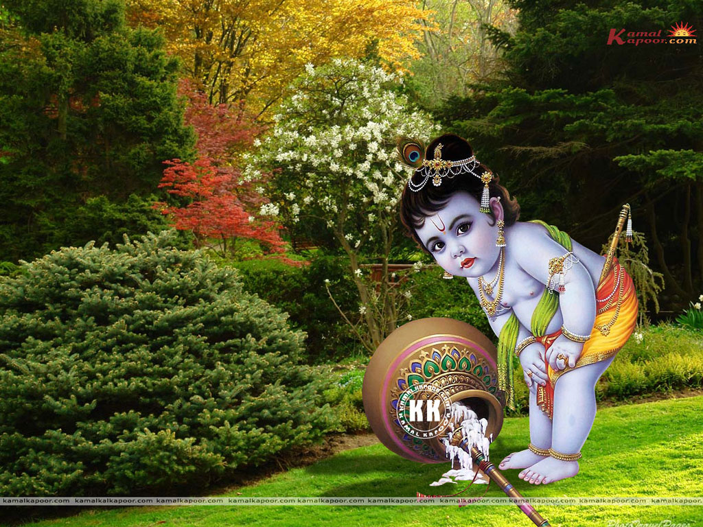 Krishna Wallpaper For Desktop Wallpapersafari