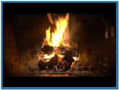 Burning log fire screensaver   Download 503x383