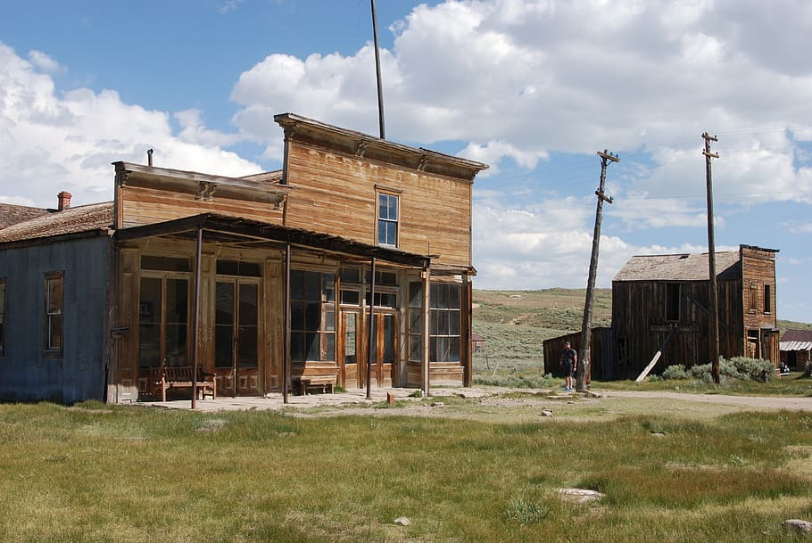 HD wallpaper bodie california old village left ghost town 910x609