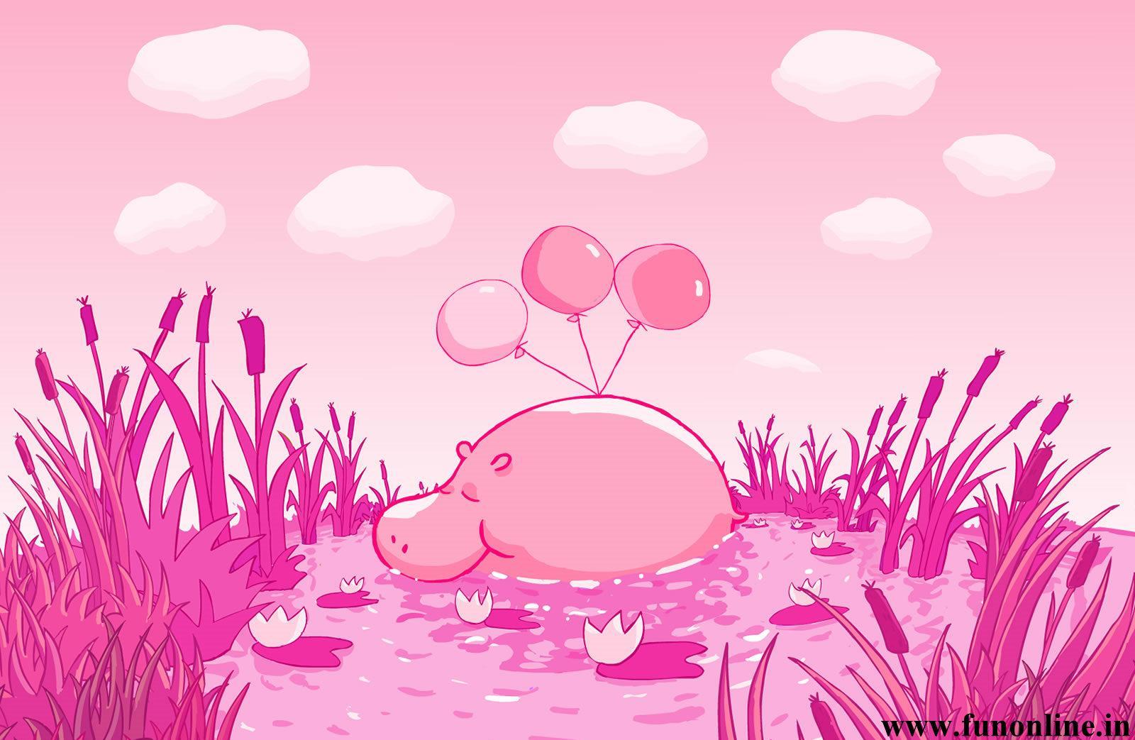 Hippopotamus Wallpapers Download Giant Hippos HD Wallpaper 1600x1043
