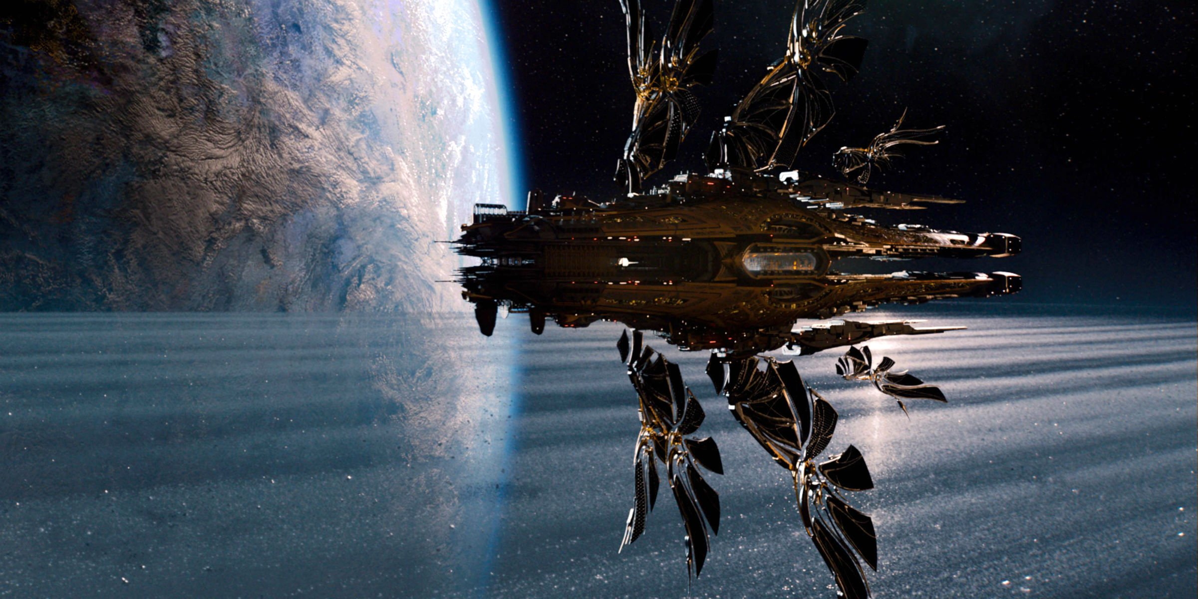 Awesome Background Pictures Jupiter Ascending Full HD Quality 2400x1200
