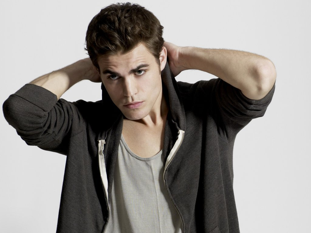 Paul   Paul Wesley Wallpaper 17113370 1024x768